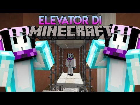 ELEVATOR DI MINECRAFT?! | Minecraft Indonesia BeaconCream S2 #21