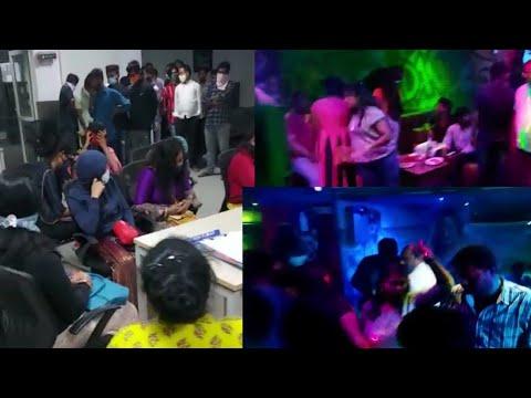Raids at Lisbon Pub Begumpet 15 Women and Owner Taken into Custody by Westzone Taskforce Police.