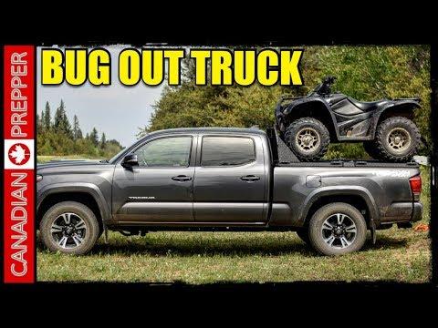 Bug Out Vehicle Mods Diamondback Headache Rack And Hd Tonneau Cover Youtube