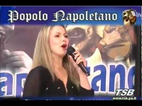Licya Indelicato e Gianni Vezzosi  nun se duorme e nun se magna