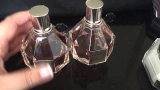 FLOWERBOMB by Viktor & Rolf review of perfume and body cream