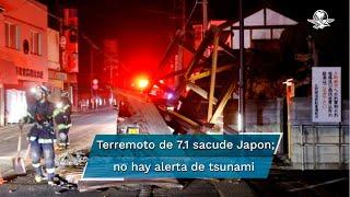 Un terremoto de 7.1 grados sacude el este de Japón