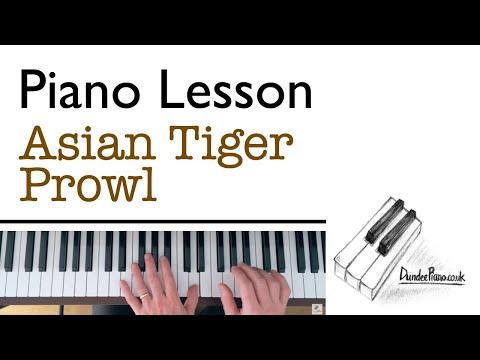 Asian Tiger Prowl - Piano Grade 1 C:1 ABRSM