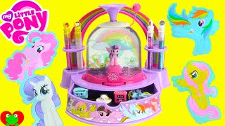 My Little Pony Glitter Globe Maker with Happy Places and Surprises