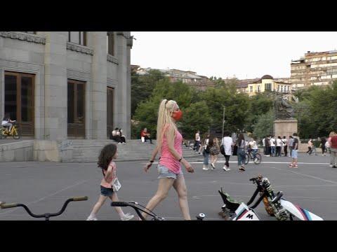 Ереван, 05.07.20, Su, Любимые места в центре, пл.Франции, Опера,  День 109, Video-2