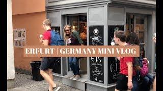 Germany Mini Vlog | Erfurt