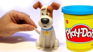 Max from The secret life of pets movie Stop motion play doh clay cartoon thumbnail