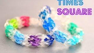 How to Make a Times Square Rainbow Loom Bracelet