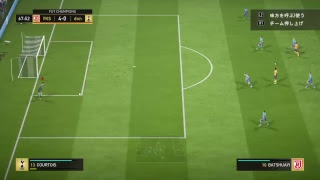 FIFA18の配信やってます。 weekend ゴル2 好きなフォメ4-4-2 PSID germa...