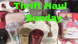 Designer Thrift Haul ~ Kate Spade , michael Kors, longchamp