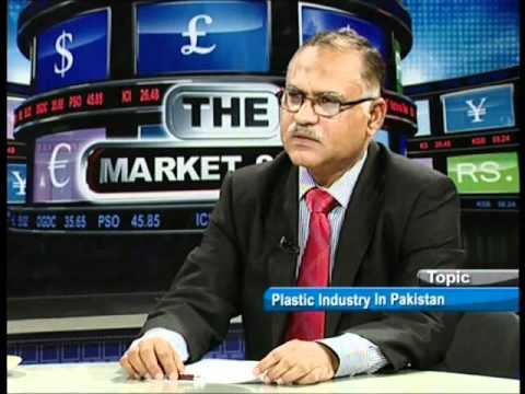 THE MARKET SHOW WITH TARIQUE KHAN JAVED 16 JAN 12 ON PLASTIC INDUSTRY IN PAKISTAN