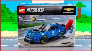 LEGO Speed Champions 75891 Chevrolet Camaro ZL1 Race Car Construction Toy - UNBOXING