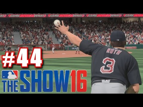 BABE RUTH VS. MIKE TROUT! | MLB The Show 16 | Road to the Show #44