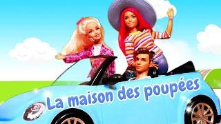 La vie secrète des jouets. Barbie, fées Winx et les autres. Compilation de vidéos de poupées.