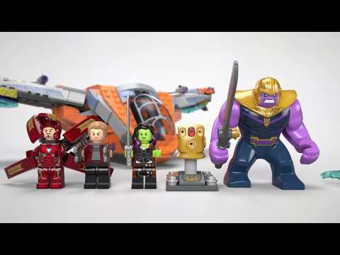 Lego 76107 Super Heroes Thanos la battaglia finale