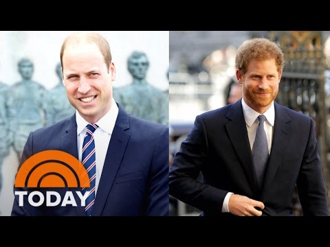 Prince William, Prince Harry Open Up About Death Of Princess Diana: 'It Never Leaves You' | TODAY