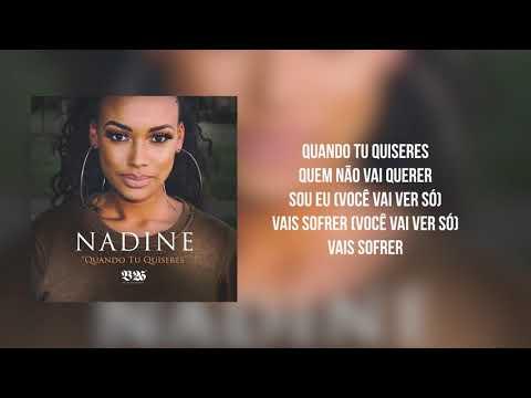 NADINE - QUANDO TU QUISERES - (AUDIO) B26