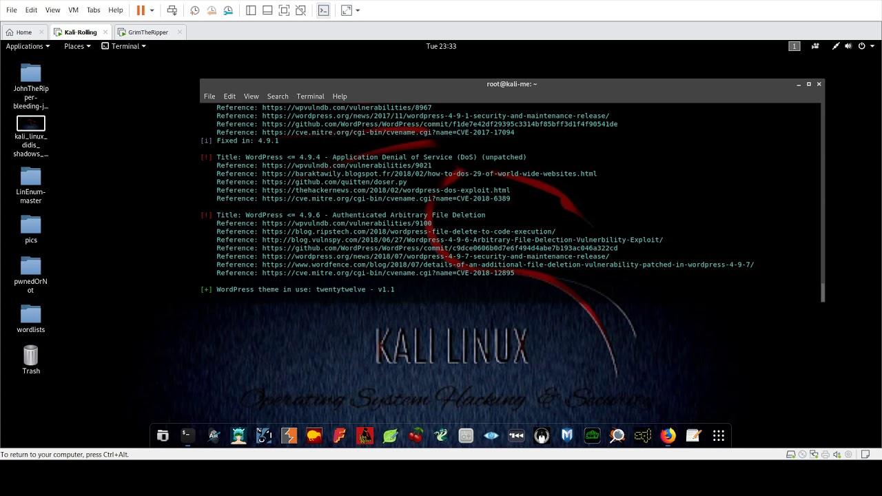 WordPress Security Testing [94 ] - Red Team Pentesting
