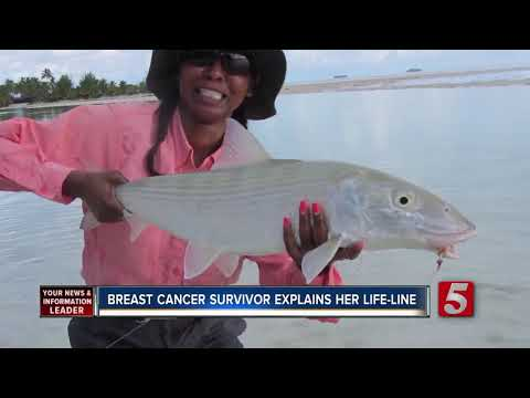 Breast Cancer Survivor Says Fly Fishing Was Her Life-line