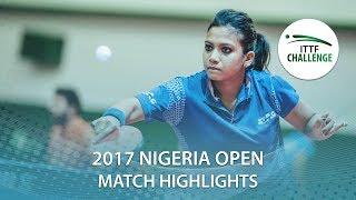 2017 Nigeria Open Highlights: Szandra Pergel vs Reeth Tennison (R16)