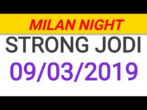 MILAN NIGHT 09/03/2019 STRONG OTC TRICKS