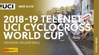 2018-2019 Telenet UCI Cyclocross World Cup - Heusden-Zolder (BEL) / Men Elite