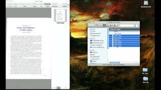 كيفية إنشاء صفحة متعددة PDF في نظام التشغيل Mac OS X