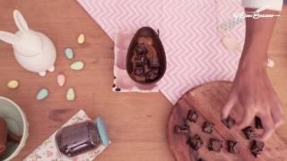 Nesta Páscoa aprenda a fazer Ovo de Colher