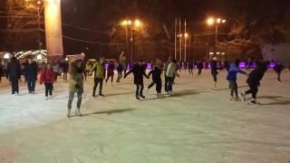 Открытие зимнего сезона 2016-2017 на катке Лед в парке Сокольники