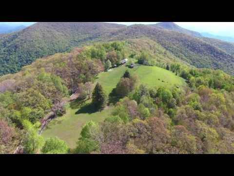The Swag - Aerial Footage of Goose Creek Knob, Waynesville, NC - 4K