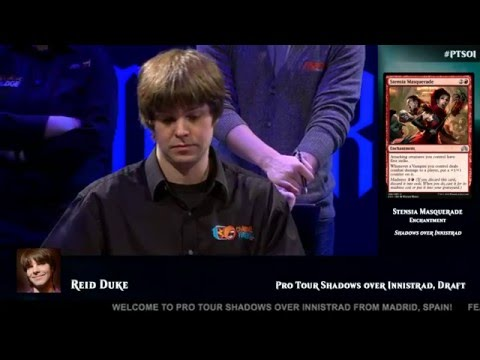 Pro Tour Shadows over Innistrad: Day 1 Opening and Drafting with Reid Duke