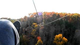 Red River Gorge Zipline #4 [HD]