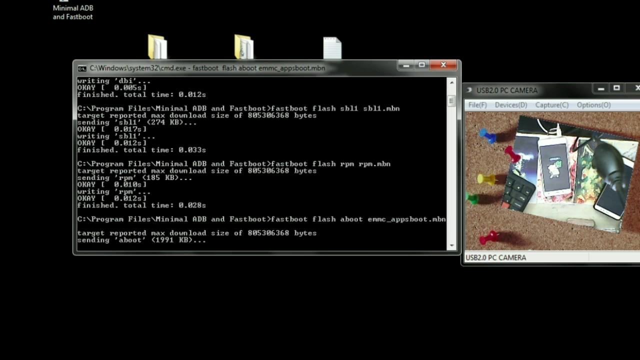 XIAOMI (mi 4w ) frp, pattern lock fix BY fastboot commands