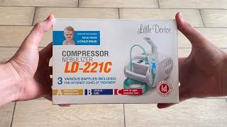 Review of the home inhaler-nebulizer Little Doctor LD-221C