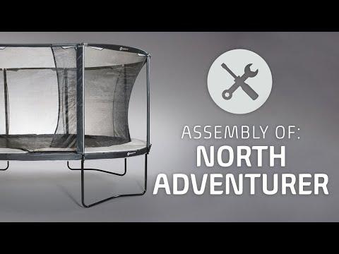 North Trampoline - ASSEMBLY Adventurer ( official)