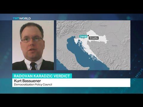 Interview with Kurt Bassuener about Radovan Karadzic verdict