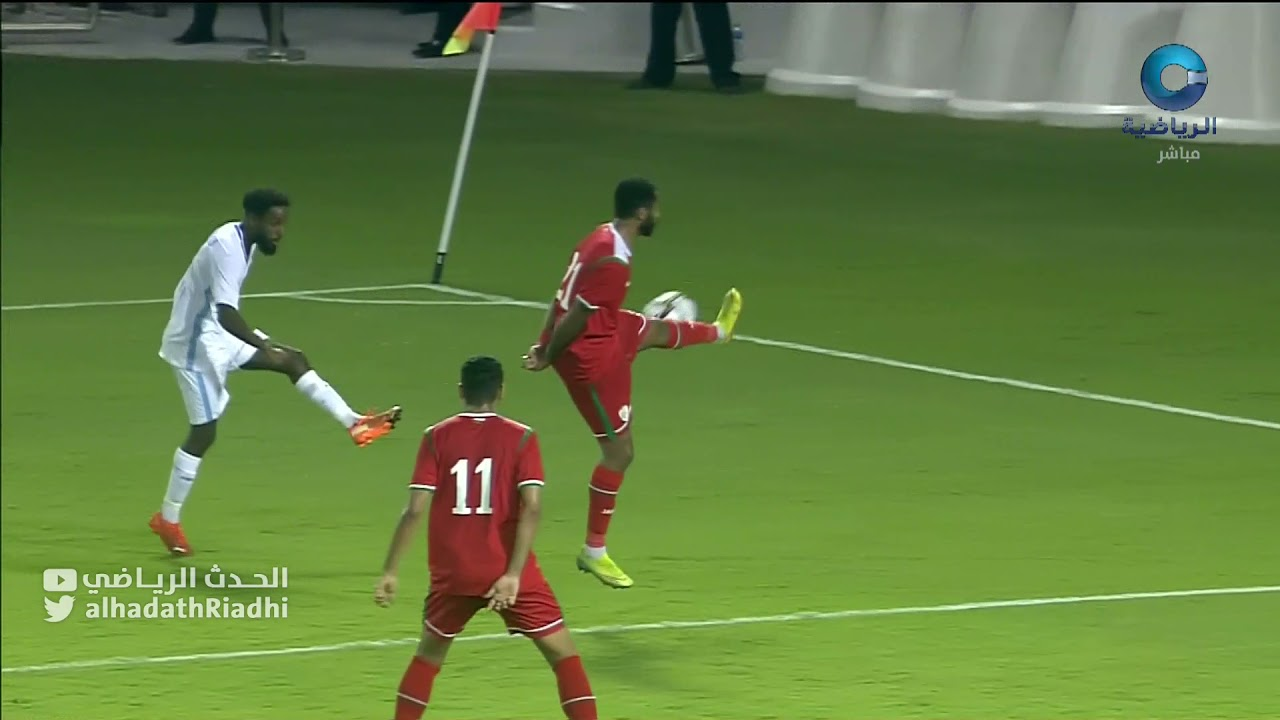 """هدف منتخب الصومال الأول د""""54 : عمان 2 × 1 الصومال :  التصفيات المؤهلة لنهائيات كأس العرب للمنتخبات"""