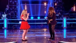 The Voice UK 2013 | Cherelle Basquine Vs Elise Evans - Battle Rounds 2 - BBC One