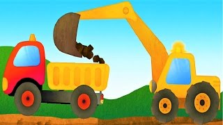 Play The Truck & Construction Vehicles Educational Game For Kids