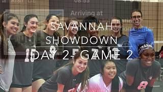 Savannah Showdown Day 2 Game 2 Alysha15 Volleyball