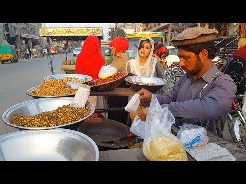 Faisalabad Street Food  (Bhune Hue Chane)