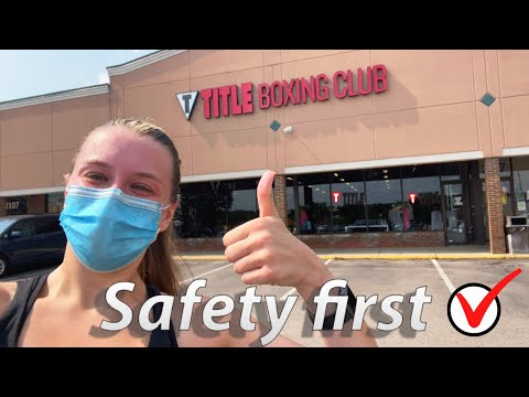Boxing At Title Boxing Club Post Pandemic: Title Boxing Club Workout Class Is It Safe?