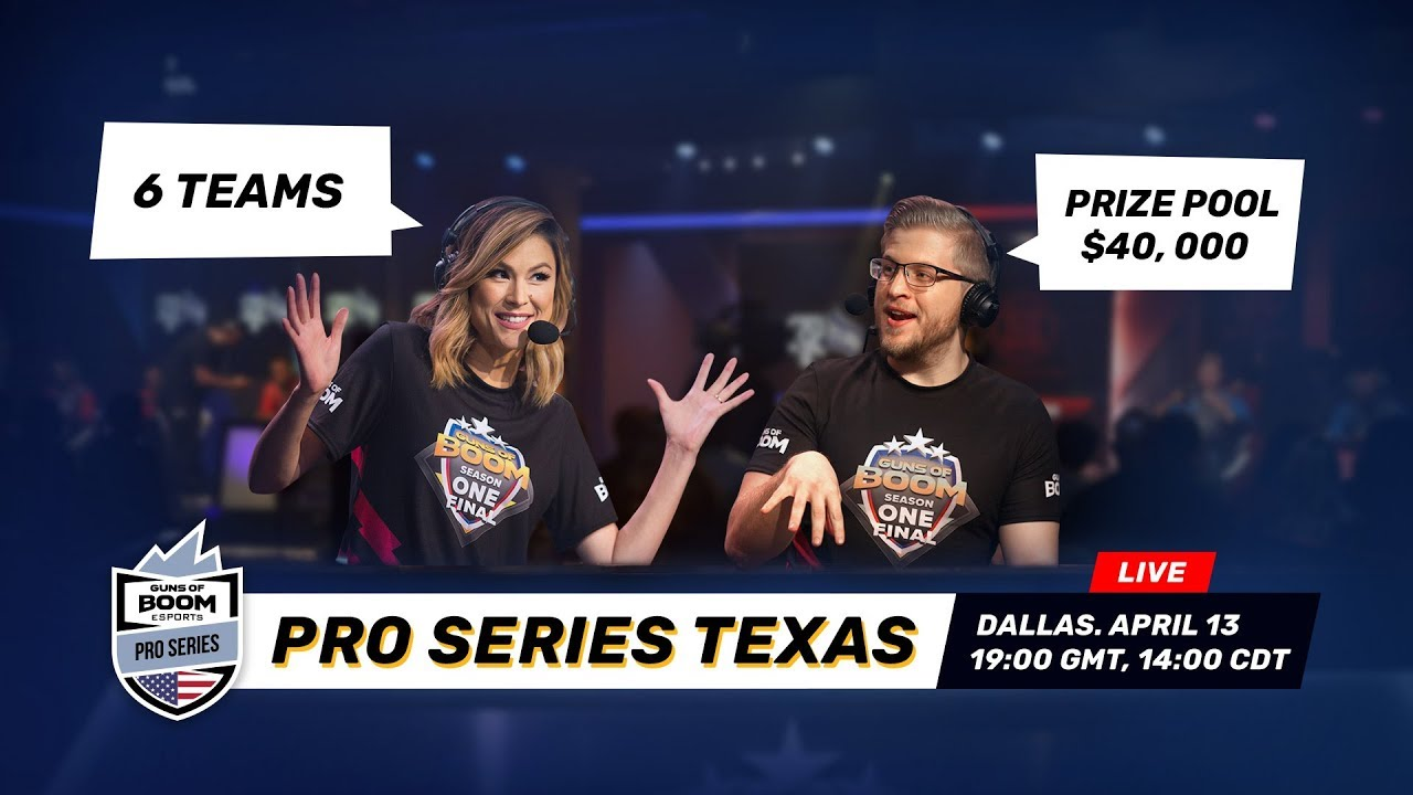 Season 2 ESL Guns of Boom Pro Series Texas