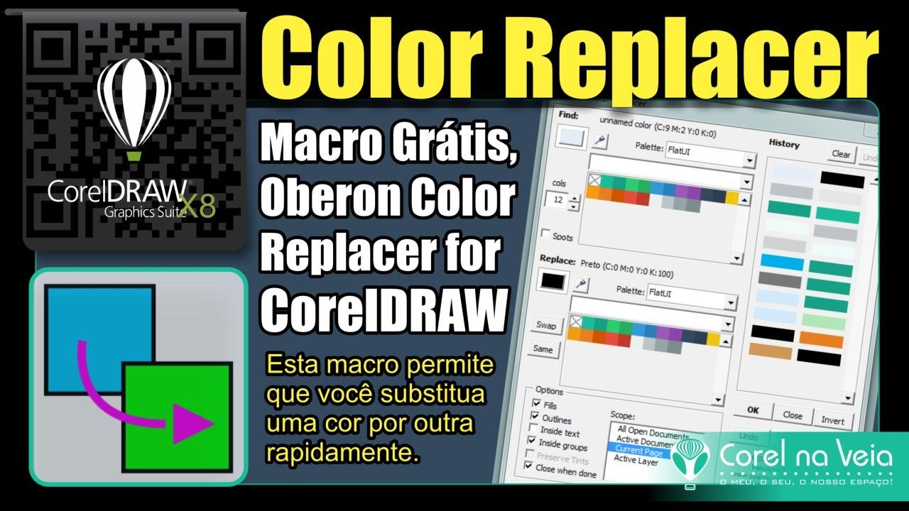 Macros for coreldraw x8 - Coreldraw X8 Macro Gr Tis Para Substituir Cores