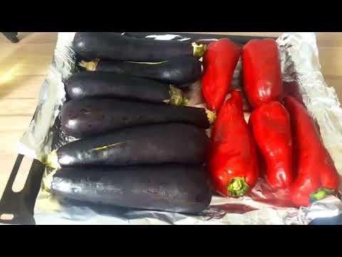 Как запечь в духовке баклажаны целиком