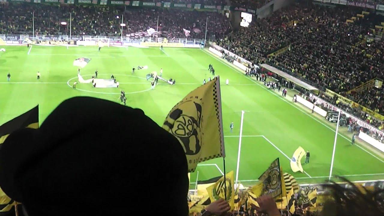 Mannschaftsaufstellung Borussia Dortmund vs. VfB Stuttgart [HD]