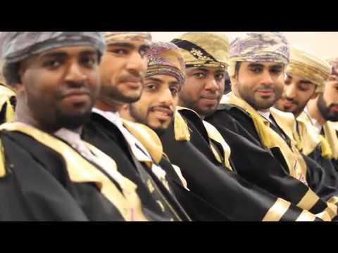 Muscat College Graduation Commencement 2015- 2016