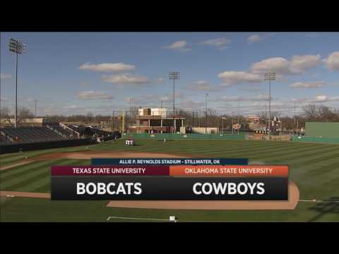 Cowboy Baseball vs. Texas State