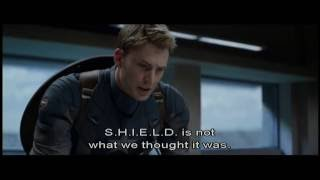 This is the most inspiring moment of Captain America The Winter Sol...
