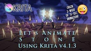 Let's Animate Ep. 9 - Krita: Stone (Image Comics)